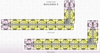 Arcadia Beach Resort - floor plans - building 3 - 5