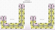 Arcadia Beach Resort - floor plans - building 2 - 4