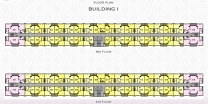 Arcadia Beach Resort - floor plans - building 1 - 3
