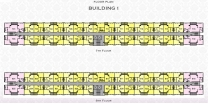 Arcadia Beach Resort - floor plans - building 1 - 5