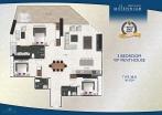 Arcadia Millennium Tower - unit plans - 16