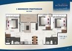 Arcadia Millennium Tower - unit plans - 9