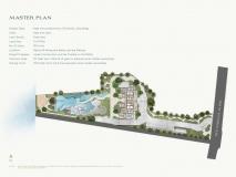 Arom Wongamat Condo - 楼层平面图 - 1