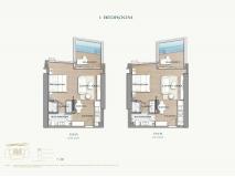 Arom Wongamat Condo - apartment plans - 11