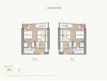 Arom Wongamat Condo - apartment plans - 5