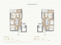 Arom Wongamat Condo - apartment plans - 6
