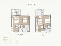 Arom Wongamat Condo - apartment plans - 7