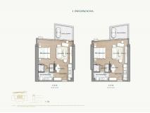 Arom Wongamat Condo - apartment plans - 8