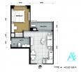 Atlantis Condo Resort - 房间平面图 - 4