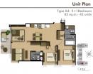 Cetus Condo - 房间平面图 - 2