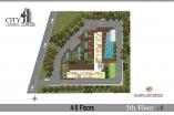 City Garden Tower - floor plans - 1