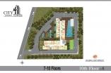 City Garden Tower - floor plans - 3