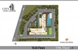 City Garden Tower - floor plans - 5