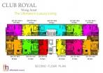 Club Royal - 楼层平面图 - 4
