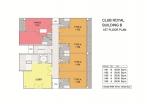 Club Royal - 楼层平面图 - 5