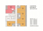 Club Royal - 楼层平面图 - 6