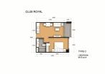 Club Royal - 房间平面图 - 11