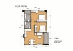 Club Royal - 房间平面图 - 14