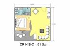 Club Royal - 房间平面图 - 4
