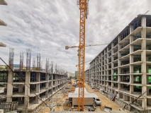 Dusit Grand Park 2 condo - 2019-08 construction site - 1