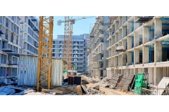 Dusit Grand Park 2 condo - 2019-12 construction site - 2