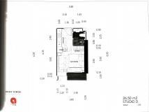 Dusit Grand Tower - Studio room plans - 5