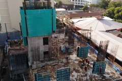 EDGE Condo Central Pattaya - 2019-12 construction site - 2