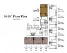 Empire Tower Pattaya - 楼层平面图 - 9