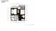 Espana Condo Resort Pattaya - 房间平面图 - 1