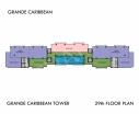 Grande Caribbean Condo - 楼层平面图 bld Cruze - 10