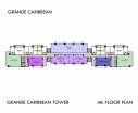 Grande Caribbean Condo - 楼层平面图 bld Cruze - 3