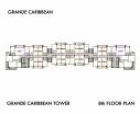 Grande Caribbean Condo - 楼层平面图 bld Cruze - 7
