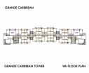 Grande Caribbean Condo - 楼层平面图 bld Cruze - 8