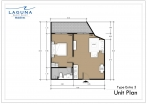 Laguna Beach Resort 3 Maldives - unit plans - type E - 3