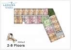 Laguna Beach Resort 3 Maldives - floor plans - buildings A B C  - 5