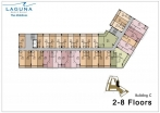 Laguna Beach Resort 3 Maldives - floor plans - buildings A B C  - 7
