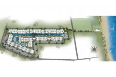 Ocean Horizon Beachfront Condo - masterplan & panorama - 1