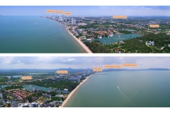 Ocean Horizon Beachfront Condo - masterplan & panorama - 2