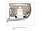 Ramada Mira North Pattaya - 1 bedroom Apartment Junior Suite type 45 s.qm - 3