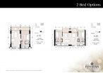 Riviera Wongamat Beach - 房间平面图 - South Tower - 1