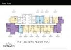 Riviera Monaco Condo - floor plans - 4