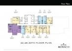 Riviera Monaco Condo - floor plans - 8
