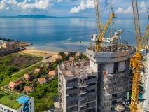 Riviera Monaco Condo - 2019-10 construction site - 1