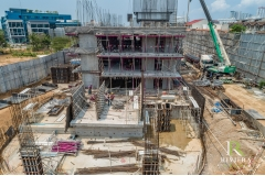 Riviera Ocean Drive - 2020-03 construction site - 4