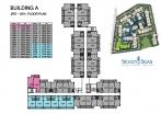 Seven Seas Condo Jomtien - floor plans - buildings A B C D - 3