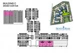 Seven Seas Condo Jomtien - floor plans - buildings A B C D - 6