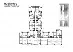 Seven Seas Condo Jomtien - floor plans - buildings E F G H - 5
