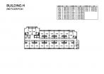 Seven Seas Condo Jomtien - floor plans - buildings E F G H - 8