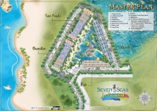 Seven Seas Le Carnival Pattaya - building A  Rio - floor plans (8 floors) - 1