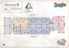 Seven Seas Le Carnival Pattaya - building B Brasilia - floor plans (28 floors) - 1